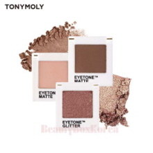 TONYMOLY Eyetone Single Shadow Set 3Items + Palette 1ea,TONYMOLY,Beauty Box Korea